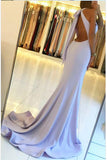 Fashion Halter Front Split Backless Mermaid Cheap Prom Dresses Evening Gown Party Dress LD899