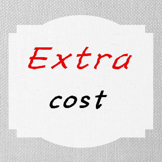 Rush order cost/ extra cost link