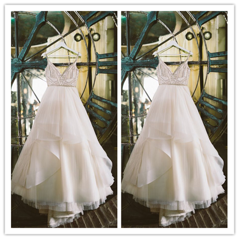 New Sexy ball gown princess  White tulle  Wedding Dresses #W021