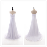 A-line Tulle The Best Wedding Dress #W018