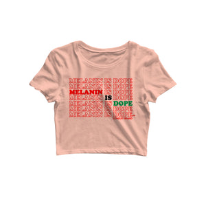 PEACH MELANIN IS DOPE CROP - Conduit Brand