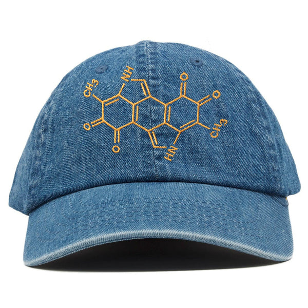 MELANIN CHEMICAL STUCTURE DAD HAT - Conduit Brand