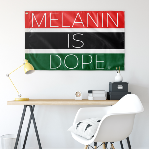 MELANIN IS DOPE® FLAG - Conduit Brand