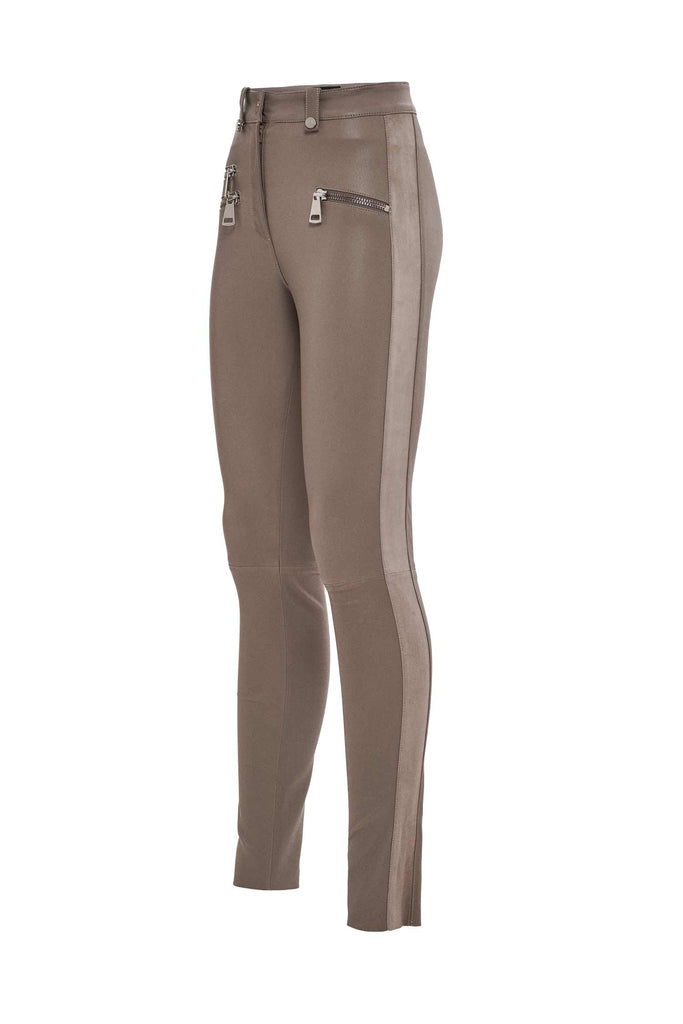 Carine Leather Pants