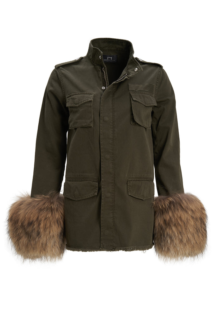 Rosalie Military Jacket