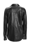 Lilly Leather Shirt