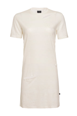 Chrissy Linen Beachwear Dress