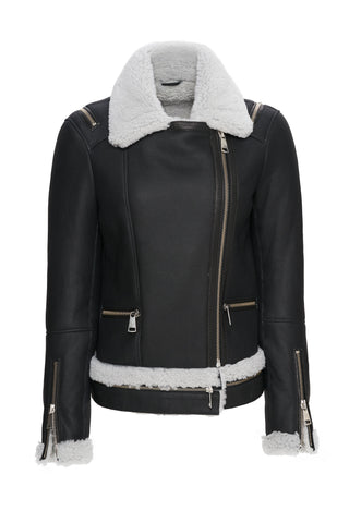 Eliza Leather Jacket