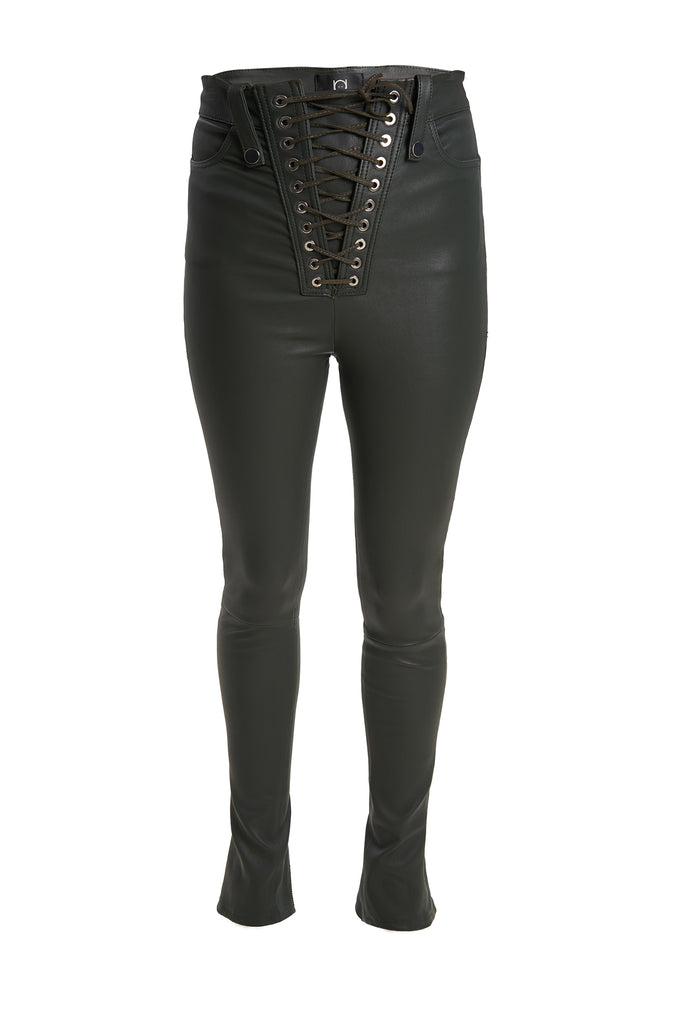 Amber Leather Pants