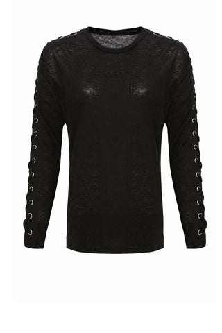 Jayne Lace Up Detail Top