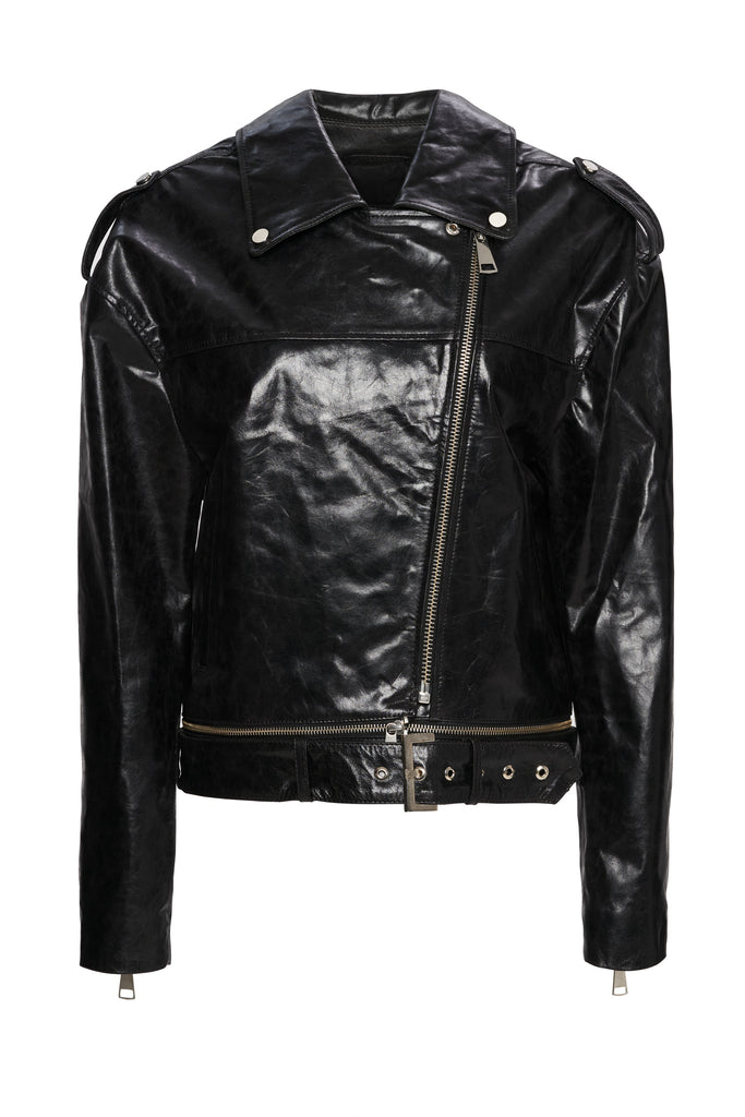Tokio Crispy Leather Jacket