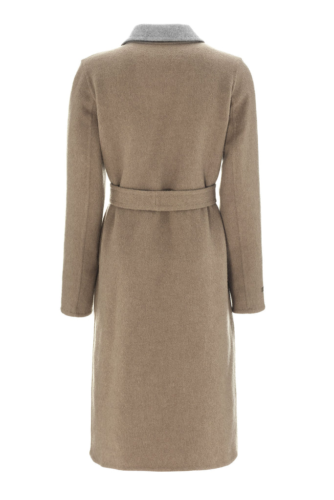 Milly Cashmere Alpaca Coat