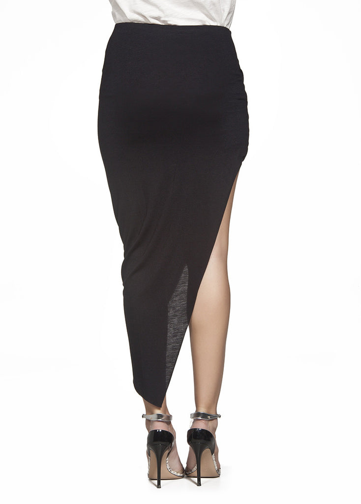 Alexa asymmetric skirt
