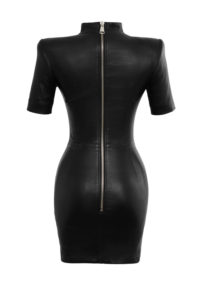 Scarlett Leather Dress