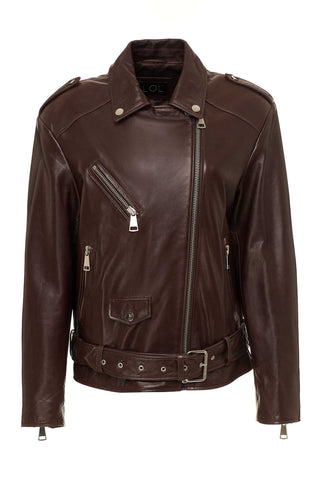 Mariel Leather Blazer