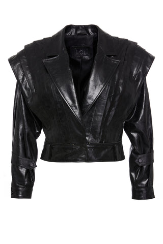 Tais Leather Top