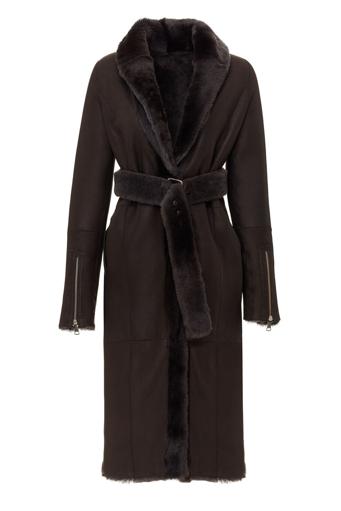 Aliana Shearling Coat