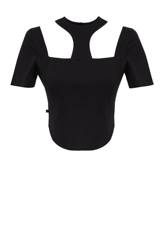 Minka Linen Crop Top