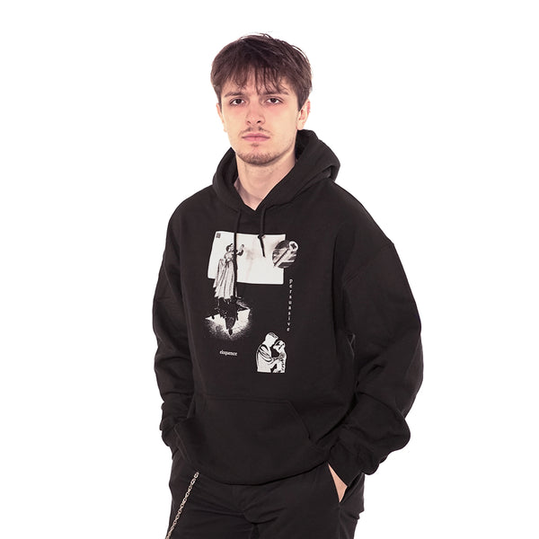 treachery hoodie sweatshirt model