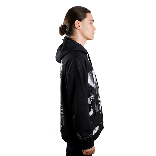 rule of three allusion hoodie side right model