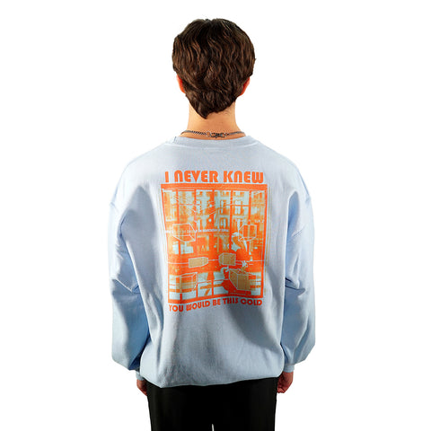 rule_of_three amazement sweatshirt back model
