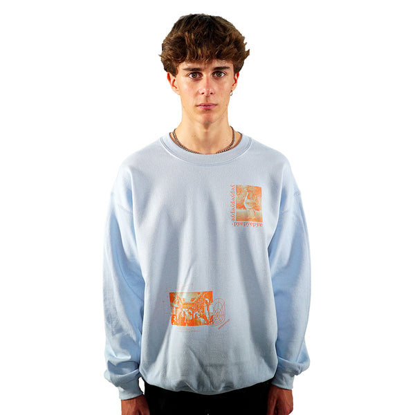 rule_of_three amazement sweatshirt front model