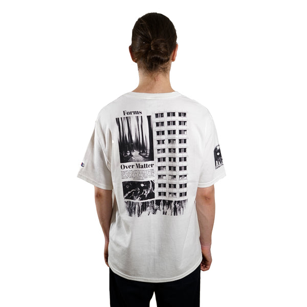 rule of three forms tee tshirt back model