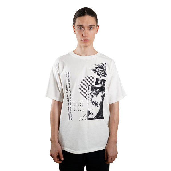 rule of three forms tee tshirt front model