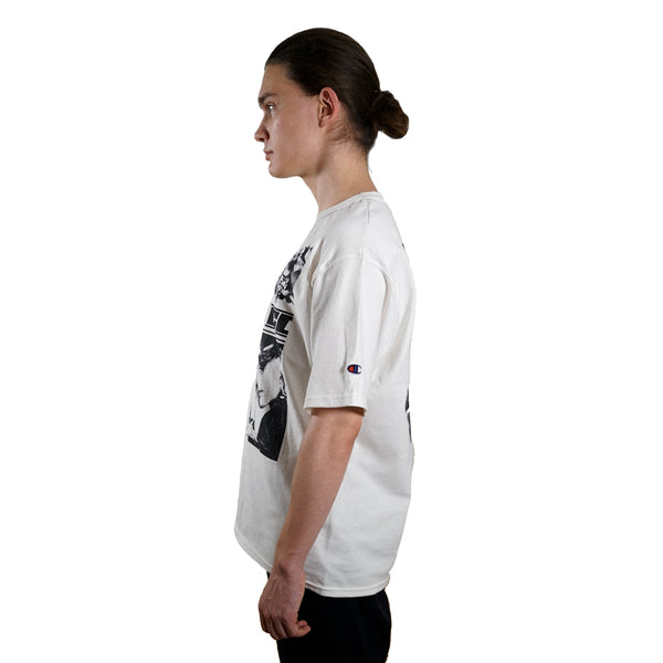 rule of three forms tee tshirt side left model