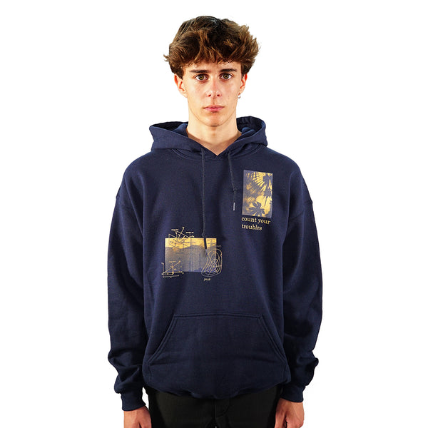 rule_of_three grief hoodie front model