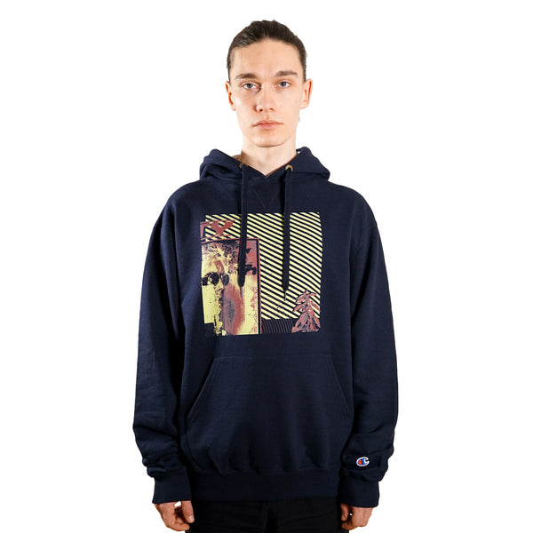 rule of three interpretation hoodie front model