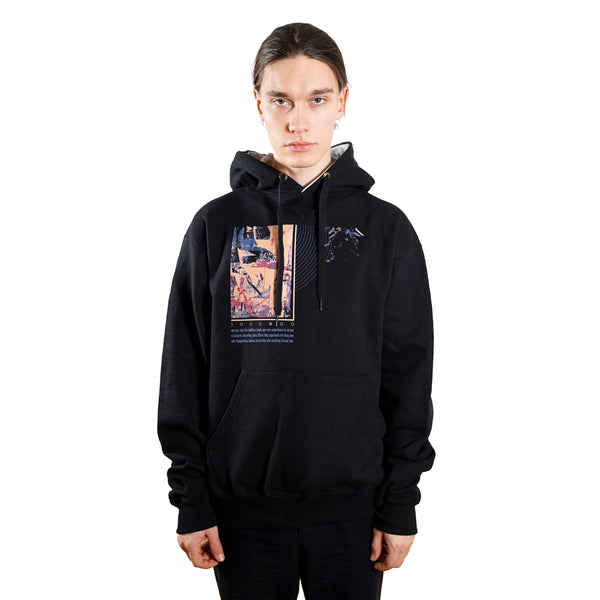 rule of three meaning hoodie front model
