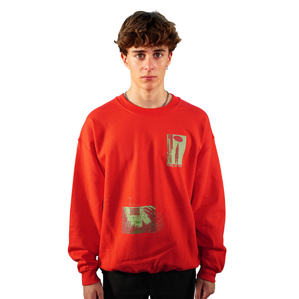 rule_of_three rage sweatshirt front model