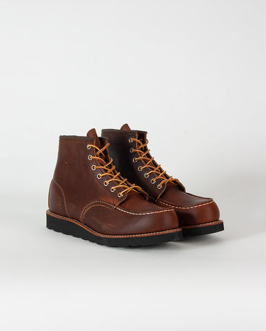 Moc Toe Boot Copper Back Sole