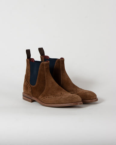 Hoskins Brogue Boot TAN