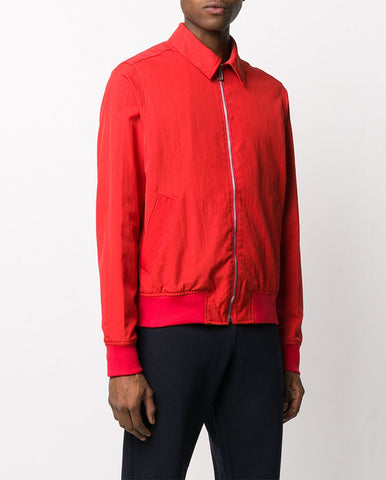 Collared  Bomber Jkt RED