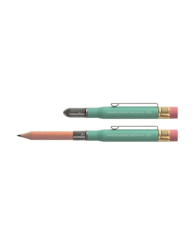 Brass Pencil -  Factory Green
