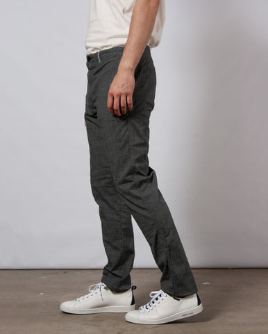Micro check Chino Grey Smoke