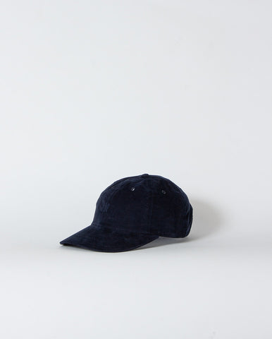 Baby Cord Sports Cap Dark Navy