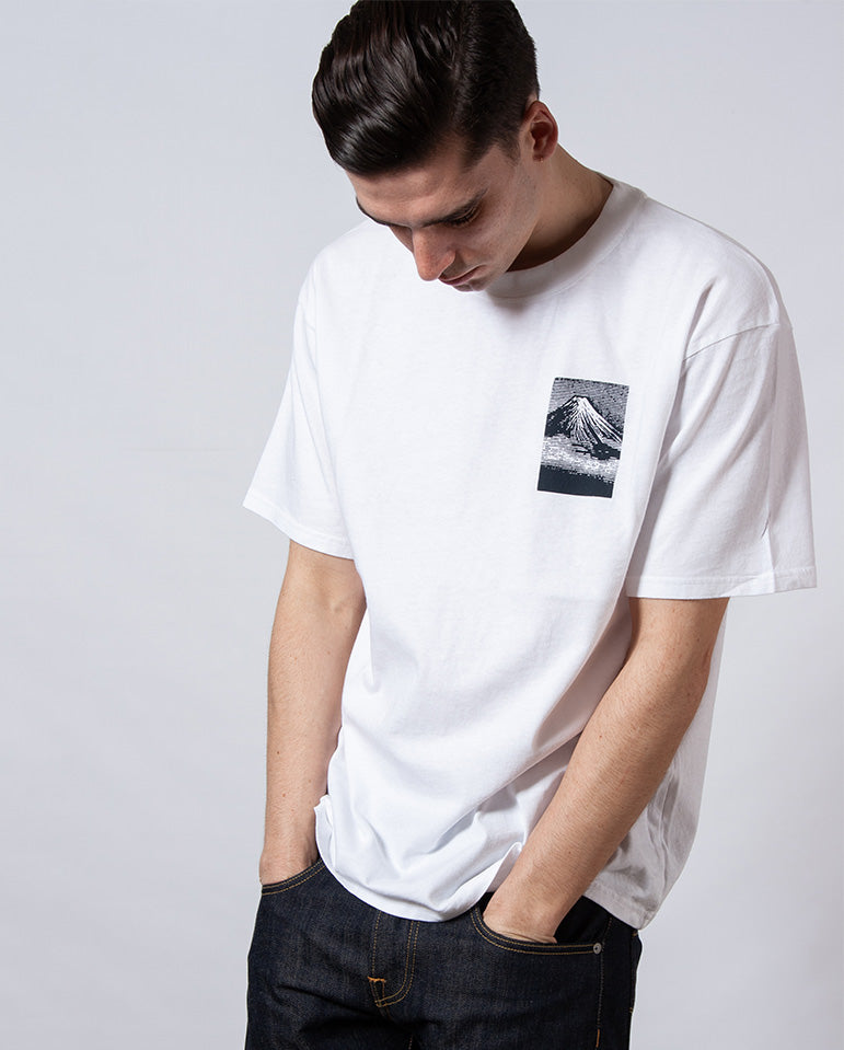From MT Fuji Tee WHITE