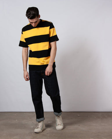 Football Tee Black/Yellow