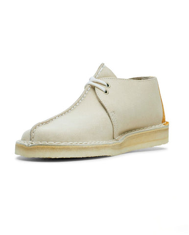 Desert Trek Shoe Off White Suede