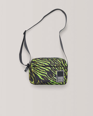Lime tiger Crossbody bag