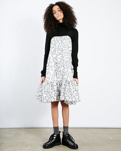 Anette Organza Dress Birch White
