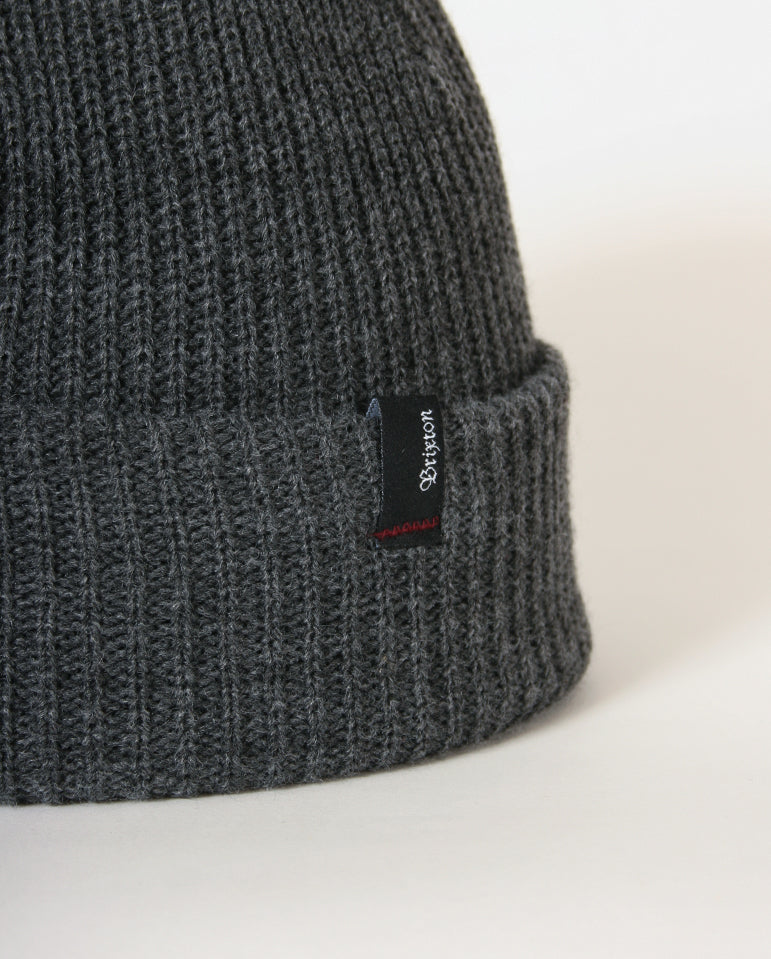 Heist Beanie Heather Grey