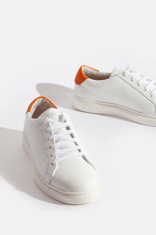 Ari White Trainer White/Orange