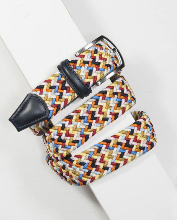 Woven belt - Multi Colour - Light