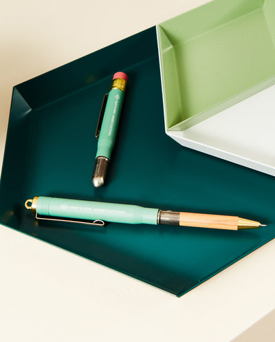Brass Pen - Factory Green