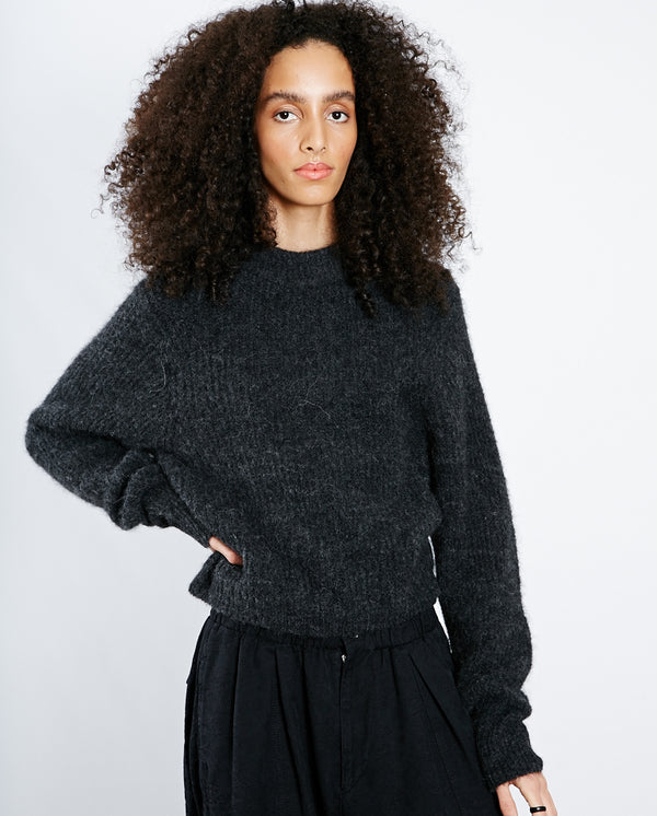 East Classic Turtle Knit Anthracite