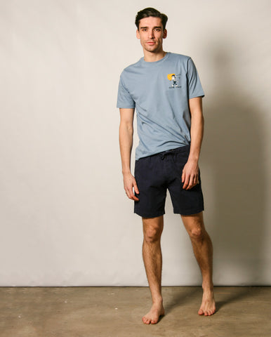Heritage Drawcord Short NAVY